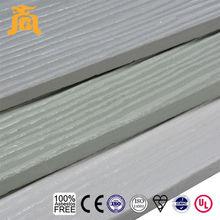 Exterior House Decorative Wood Grain Fiber Cement Panel Siding