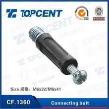 zinc alloy cabinet stainless steel connecting bolt