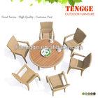 mobília da sala de jantar quadrada mesa