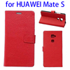 Classic Litchi Texture Magnetic Horizontal Flip Leather Mobile Case for Huawei Mate S With Card Slots and Photo Frame