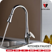 Polished chrome 360-degree swivel faucets kitchen