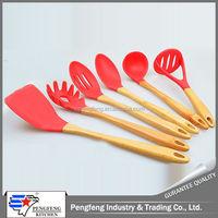 factory direct sale silicone kichen tools set