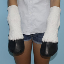 X-MERRY Adult Latex Alibaba 1 Pair Novelty Latex Horse Hooves/hoof Halloween Costume Gloves Prop
