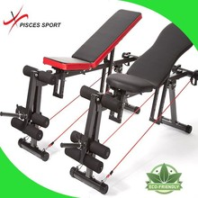AB Sit Up Bench with Resistance Bands