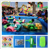 Children's favorite kids paddle boat water park amusement for pool one person paddle boat electric paddle boats