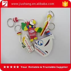 New popular design eva key rings key fob wholesales
