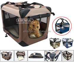2014 Newly Developed Pet Dog Soft Crate Pet Cage Kennel