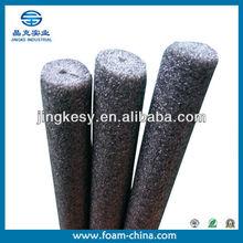 calificado de shanghai fuente de la fábrica pe epe nbr espuma de aislamiento de tuberías de material