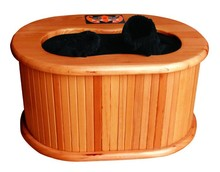 Foot far infrared therapy sauna equipment make the blood circulation and foot warmer
