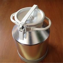 Aluminio cubo con tapa de sellado para transporte de la leche y almacenamiento cubo