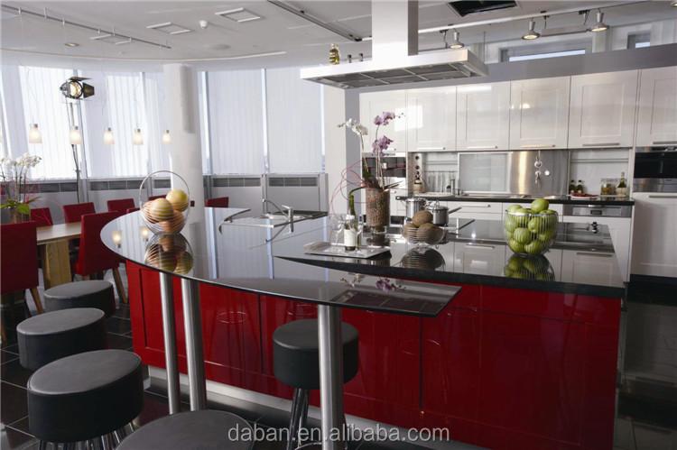Antieke verhogen deur open keuken kast ontwerp keuken kasten ...