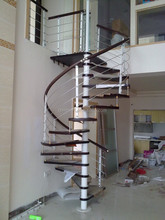 iron spiral stairs/iron and steel stairs