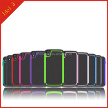 hot selling fancy 3 and 1pc and silicone combo case for Alcatel idol 3 4.7inch