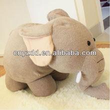 Plush cute big elephant toy /plush white elephant toys/soft elephant toy