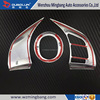 China Supplier Interior accessories ABS Chrome Steering Wheel Cover for Mazda Axela 2014