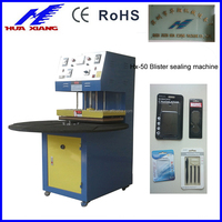 Plastic Blister Paper Cardboard Heat Sealing Machine for toothbrush