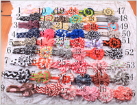 Low moq baby kids headbands handmake large quantity headbands in stock cheap various kinds of accesorries in stock