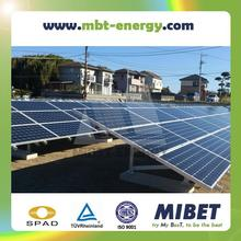Aluminum Ground Solar PV Mounting System with Concrete Base or Ground Screws -- MRac GT III