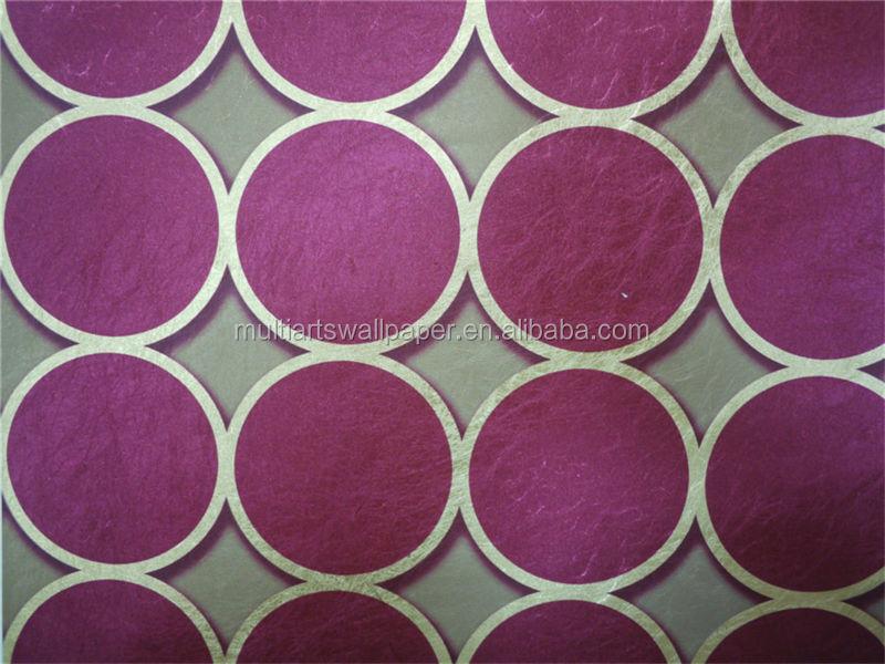 Mode papier peint de style lourd design italien tv d coration murale papier peint violet fonc for Peinture murale argentee