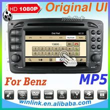 Best price car radio for SLK W170 with car auto dvd gps