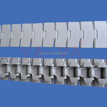 Flexible plastic conveyor chain slat chain table top chain