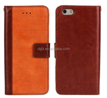 New arrival Manufactured flip leather case cover for iphone 6,mobile phone case for iphone 6,leather case for iphone 6