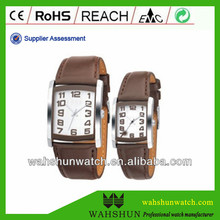 New arrival various shapes japan movt quartz watch stainless steel lovers watch for anniversaries