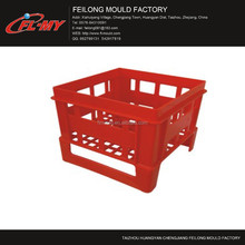 professional vegetable plastic crate injecion mould made in huangyan