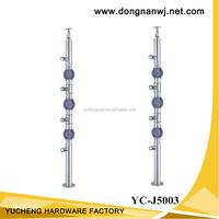 Stainless steel balustrade/fence post bracket, stainless steel glass bracket (YC-J5003)