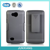 wholesalers china silicone case hard cover with kickstand for LG JOY H220/H221