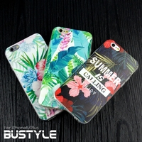 Wholesale Ultra Slim Soft tpu Case for Apple iPhone 5s 6s plus for samsung galaxy s4 s5 s6 edge Flower Custom Design Case 2015