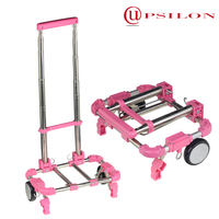 Extendable foldable flatbed cart for house wife
