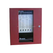 Pop nueva convencionales 8-zones panel de Control de alarma acepta 2 wire detector de humo HM-1008 alarma de seguridad
