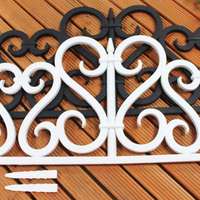 (544) Hottest Sale Removable Garden Cheap Quality-assured Plastic Fence