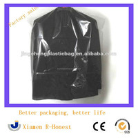 2015 Best Selling Clear Plastic Suit Garment Bag