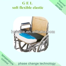 gel wheelchair cushion providing shock absorption and cooling