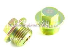 Caixas de câmbio oil escorredor plugs