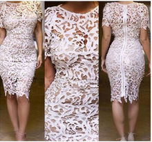 2014 SEXY HOLLOW OUT LACE DRESS, SUMMER, WOMEN DRESS, EVENING DRESS
