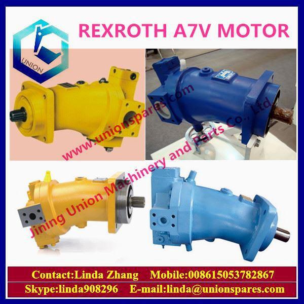 Genuine Excavator Pump Parts Rexroth Motor A7vo160dr 63r