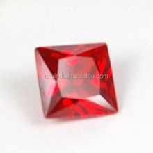 Chinese Cubic AAA Zircon Manufacturer Personalized Ruby CZ Stones