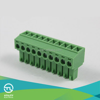 UTL MA1.5/H3.5(3.81) PCB board terminal connectors green male plug terminals with UL VDE TUV