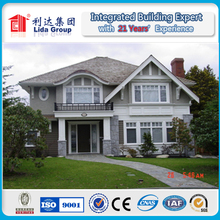Simple and Easy Installation Light Steel Real Estate Houses in Vietnam
