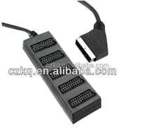 supplier scart to coaxial adapter 21 pin scart plug