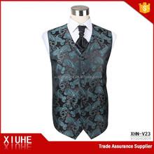 Fashion jacquard summer fancy vest for men