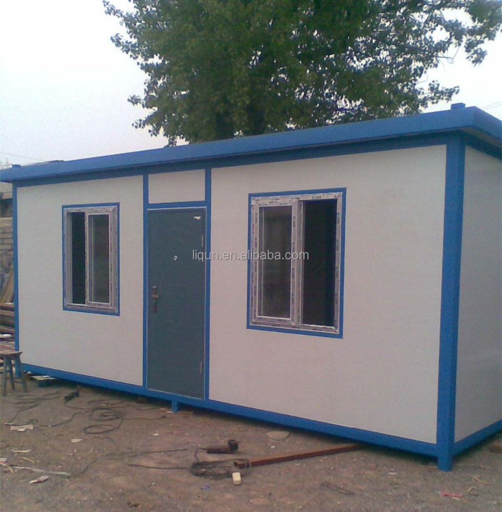 Small prefab houses underground container houses modern for Prefabricated underground homes