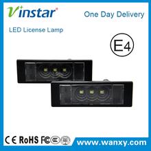 E81 E87 E87N E85 E86 E63 E63N E64 E64N led license plate light car LED module plate lamp for BMW mini R55