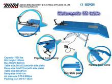 Air Scissor Lift Jack Table 1000lb Fits Harley Honda Suzuki Kawasaki