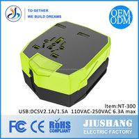 2.5A 2 Port USB Portable Home Travel adapter US EU Plug AC Power Adapter