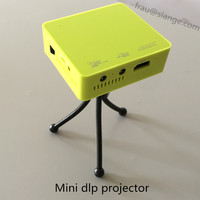 High quality New Arrival entertainment dlp mini projector support 3D video,800:1 contrast home cinema