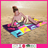 100% Cotton Custom Promotional Velour Reactive Printed Beach Towel
